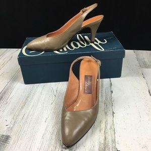 Vintage AMALFI by Rangoni Slingback Heels